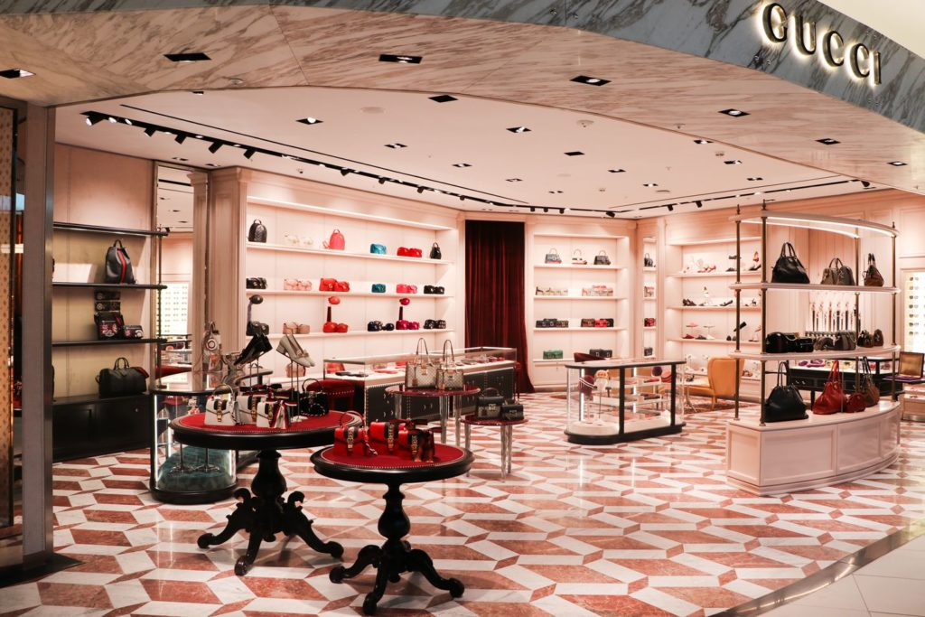 827ea099d The much-anticipated Gucci boutique opens on Level 4 of Selfridges  Birmingham, today (Wednesday, August 1), bringing a new level of luxury to  the premium ...